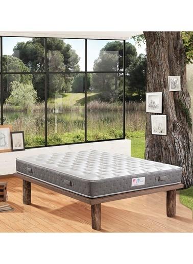 Hibboux 150x200 Dream Yaylı Yatak Beyaz